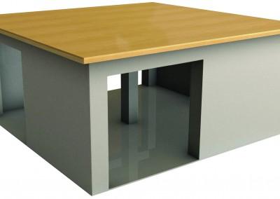 Pinwheel Table